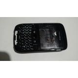 Carcaça Blackberry 8520 Curve Preta Completa