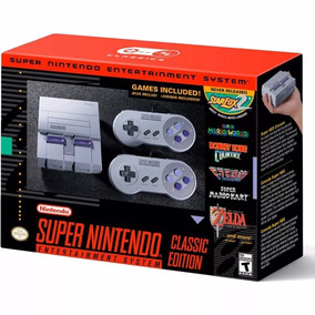 Super Nintendo Snes Mini Classic Edition Com 50 Jogos