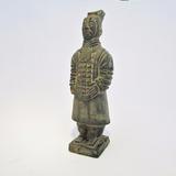 Mini Escultura Terracota Guerreiro Chinêsexército Xian 12cm