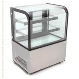 Vitrina Refrigerada De Piso Cristal Curvo Nr-arc270y Migsa