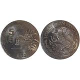 Error 5 Pesos 1980 Quetzalcoatl En Cospe De 50 Cen (id:7941)