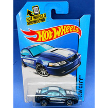 2013 Hot Wheels 1999 Ford Mustang Azul # 96 Hw City