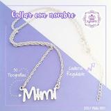 Collar Con Nombre Hombre Plata 950 (cadena Y Dije) Kynaira
