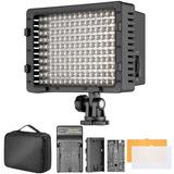Lampara 160 Led Vídeo Fotografia Kit Con Bateria Ycargador