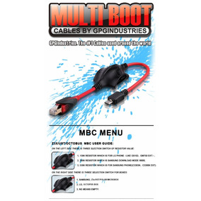 Cable Multiboot Z3x,octpus