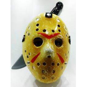 Máscara Do Jason Com Facão Kit