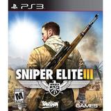 Sniper Elite 3 Ps3, Nuevo Y Sellado