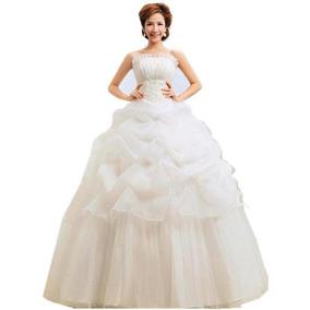 Vestido De Novia Importado Nuevo. Stock En M, L, Xl