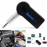 Adaptador Bluetooth P2 Recarregavel Som Chamada Cel
