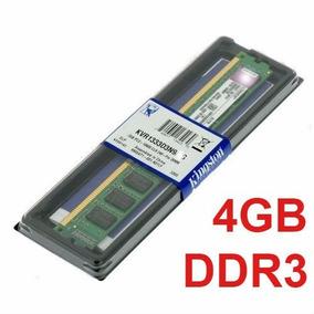 Memória 4gb Ddr3 1333mhz Pc3-10600 Kingston - Desktop Pc