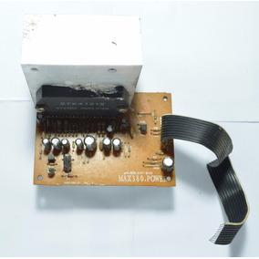 Placa Da Potência Som Gradiente Al4c Stk4121 Max380 Power