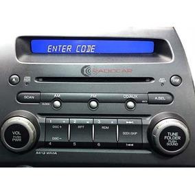 Código De Desbloqueio Radio Honda Civic, Cyte E Crv .