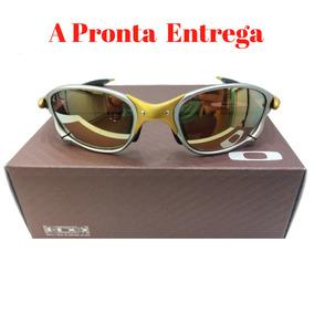 Óculos Double Xx 24k Dourado + Brinde - A Pronta Entrega