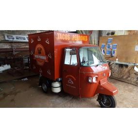 Moto Carro Food Truck Adaptado Para Vender Tacos De Guisado
