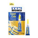 Cola Super Cola Instantânea Tek Bond 2g C/ 12 Und