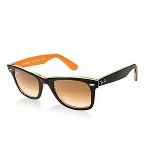 cd8fec4010051 Rayban Lente Degrade Laranja - Óculos no Mercado Livre Brasil
