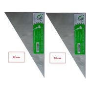 Saco Confeitar/manga Descartável 32cm- Pequeno 100 Unidades