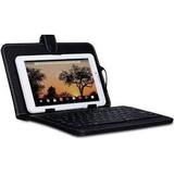 Tablet Dual Core 10 Pulgadas Android 8gb + Funda Con Teclado