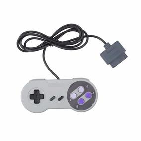 Kit Super Nintendo / Nes 1 Controle + 1 Cabo Av + 1 Fonte