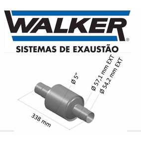 Catalisador Volkswagen Gol 98/... Walker Original