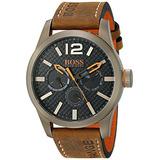 Boss Orange Hombre Paris Reloj Japonés De Cuarzo Marrón Co