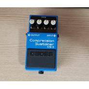 Pedal Guitarra Boss Cs-3 Compressor Jrmod Ultraplus + Bb