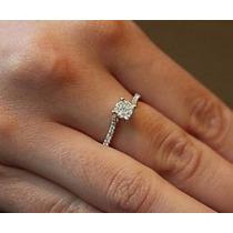 Anel Chuveirinho Ouro 18k/750 Com Diamantes