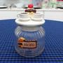 Pote Biscoito Decorado Tentação Vidro Trabalhado A53343