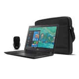 Remate! Paquete Laptop Acer Aspire 3 Con Maletin Y Mouse!