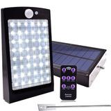 Lampara Solar 48 Led Prende Permanentemente Y Con Sensor