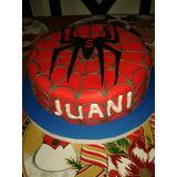 Torta Hombre Araña Infantil Cumpleaños