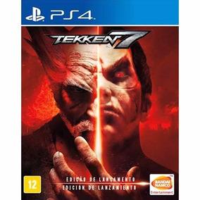 Tekken 7 - Ps4 (midia Fisica) Lacrado! Edição De Lançamento!