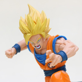 Goku Super Sayjin Dragon Ball Z+ Goku Blue Brinde