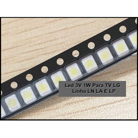 Led 3v 1w Para Tv Lg - Kit Com 30 Led