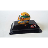 Ayrton Senna 1988 Casco Replica F.1 1988 Escala 1/18