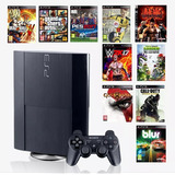 Ps3 Playstation 3 250gb + 15juegos Dig Orig + Entrega Gratis