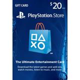 Tarjeta Psn 20 Us$ Usa - Ps3/ Ps4/ Ps Vita Digital