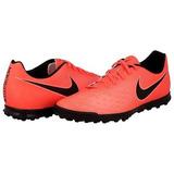 Zapatos Tenis Nike Magista Tacos Rojo Y Negro Futbol Soccer