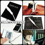 Death Note Combo X 3 Libreta + Collar L + Reloj Originales