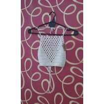 Top Tejido A Crochet Artesanalmente
