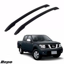 Longarina Teto Rack Elegance Bepo Nissan Frontier Sel Preta