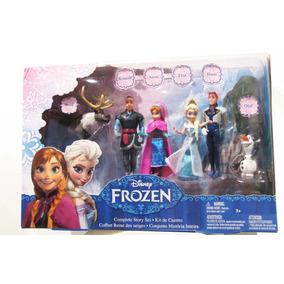 Disney Frozen Set De Lujo Figuras (nuevo)