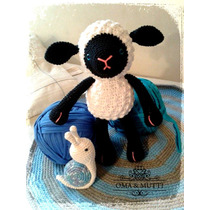 Oveja Amigurumi Crochet Hilo De Algodón 100% V. Urquiza