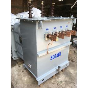 Transformador General Electric Tipo Subestacion De 500 Kva.