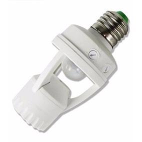Sensor Presença C/ Fotocélula P/ Lâmpada Soquete E27