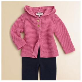 Suéter Tejido Para Bebe