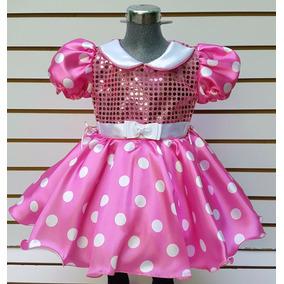 Disfraz Mimi Minnie Mouse Talla 8 Años Vestido Mallas Orejas