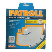 Disco Diamantado Para Corte En Seco O Húmedo 230mm Patroll