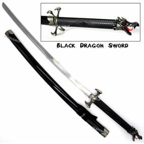 Espada Samurai Katana Dragão 100cm Decoração, Cosplay Bainha
