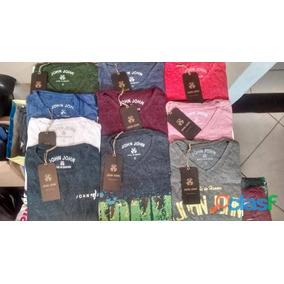 Kit 10 Camiseta Camisa John John Reserva Ck Revenda Atacado